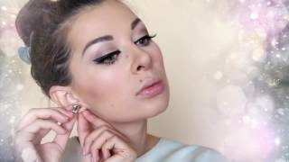 Прическа+макияж своими руками в домашних условиях на Новый год!