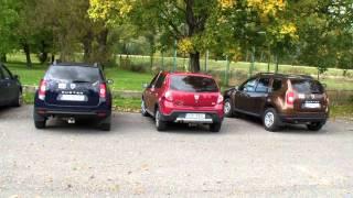 Dacia sraz 12.10.2013-Bratislava-Zlaté Piesky