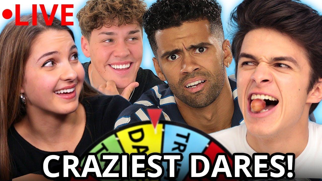 Ultimate TRUTH OR DARE Compilation w/ Nate Wyatt, Noah Beck, Brent & Lexi Rivera | AwesomenessTV