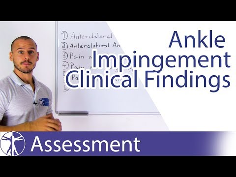 Clinical Findings | Anterior Ankle Impingement