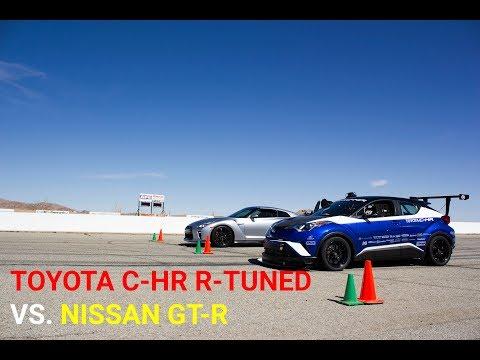Track Battle - Toyota C-HR R Tuned vs. Nissan GT-R
