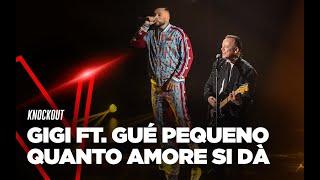 """Gigi D'Alessio e Gué Pequeno cantano """"Quanto amore si dà"""" - TVOI 2019"""
