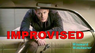 Jensen Ackles Improvised Scene In 12x01 Dean & Mary Look At Baby Weird