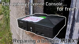 I got an Xbox for Free...But can I Fix it? // Repairing the OG Xbox