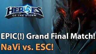 EPIC Grand Final NaVi vs ESC Gaming Heroes of the Storm