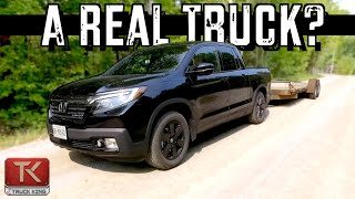 Towing, Hauling and Off-Roading in the 2020 Honda Ridgeline - A Pilot with Bed or a Real Truck?