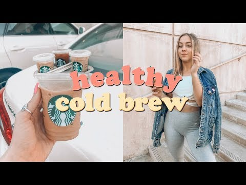 Healthy Starbucks Cold Brew Drinks