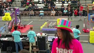 2018 FRC Power Up 5417 Allen Houston Lonestar Central Regional Week 3 Qm-50 qm50 #2018txho