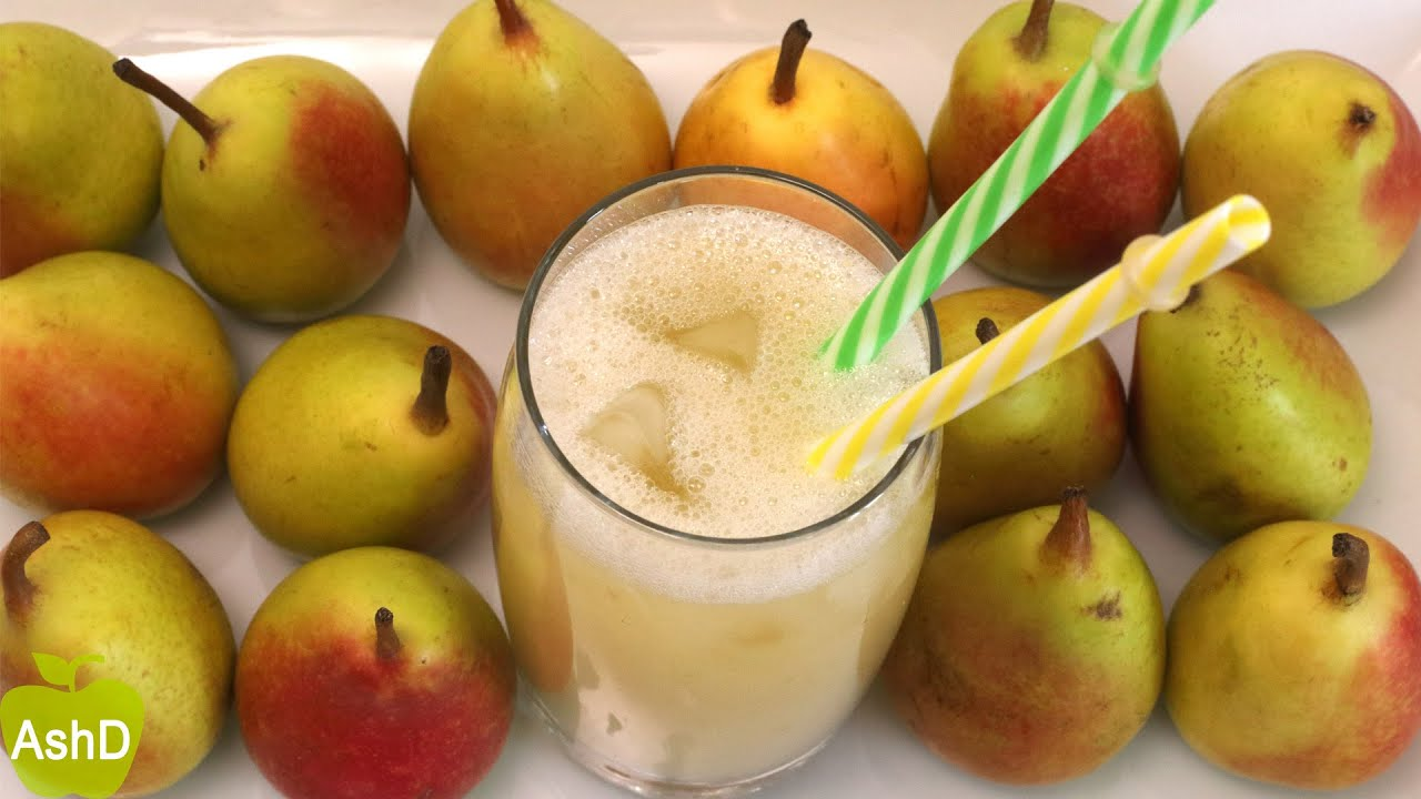 JUGO de PERA cocida sin azúcar | Receta CASERA fácil y natural | Adelgazar sin hacer dietas