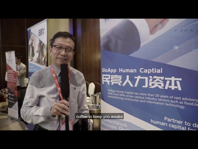 H.E.R Asia Summit 2018 - GloApp | Exhibitor's Interview