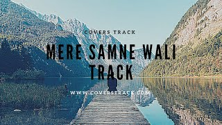 Mere Samne Wali Khidki Mein Karaoke Track | Ashish Patil | Karan Nawani | Padosan - Cover Tracks