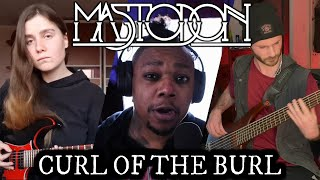 MASTODON - Curl of the Burl (Cover ft. 2SICH and davemantyx)