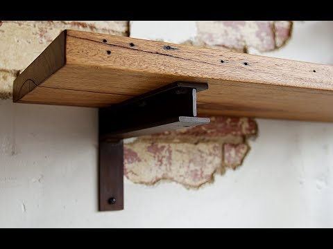 Little Anvil Making Custom Industrial Steel Shelf Brackets