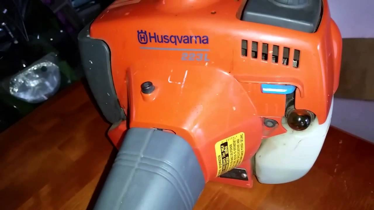 Husqvarna Trimmer 223L    YouTube