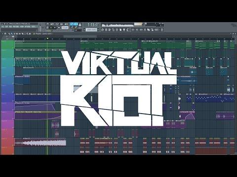 Virtual Riot - Never Let Me Go (Remake + Free FLP)