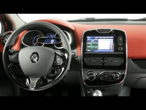2013 Renault Clio 4 INTERIOR - YouTube