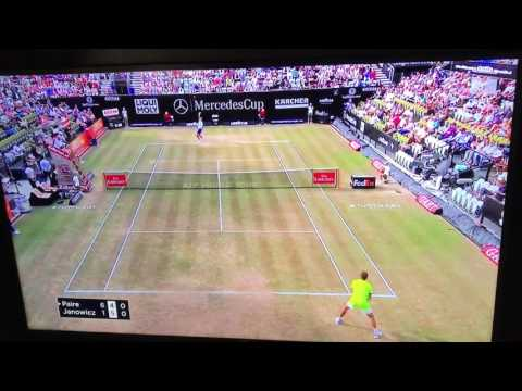 Benoit Paire 37 second hold. World Record serve game hold at 2