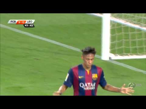 FC Barcelona - Club León FC 2014-2015