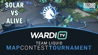 Solar vs aLive (ZvT) - TL Map Contest Tournament 4 Groups