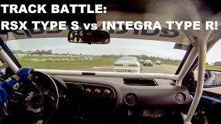 Acura RSX Type S vs. Acura Integra Type R - Track Battle!