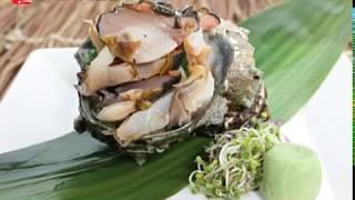 일식요리 전문가의 뿔소라손질법 (쯔노사자에)