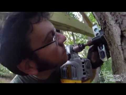 How to Install a Treehouse Tri-beam