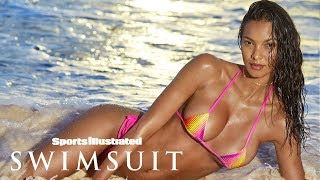 Lais Ribeiro Turns Up The Heat In Steamy Bahamas Shoot | Intimates | Sports Illustrated Swimsuit