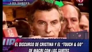 Duro de Domar - El discurso de Cristina y el touch & go de Macri con los subtes 01-03-12