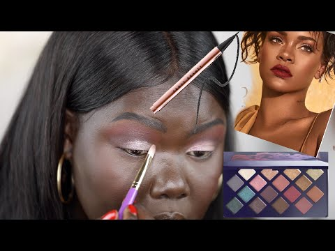 Was it Ashy?! Fenty Beauty Moroccan Spice Palette Review|| Nyma Tang