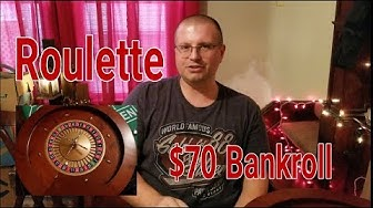 Roulette $70 Bankroll 3 Bet Method with TerryZ