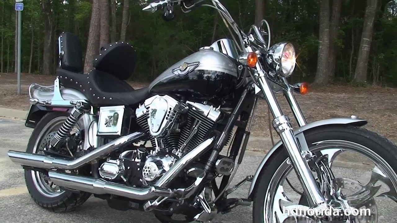 2003 harley davidson wide glide used motorcycles for sale youtube. Black Bedroom Furniture Sets. Home Design Ideas
