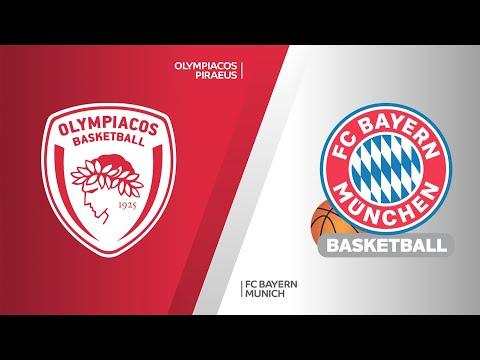 Olympiacos Piraeus - FC Bayern Munich Highlights | Turkish Airlines EuroLeague, RS Round 18