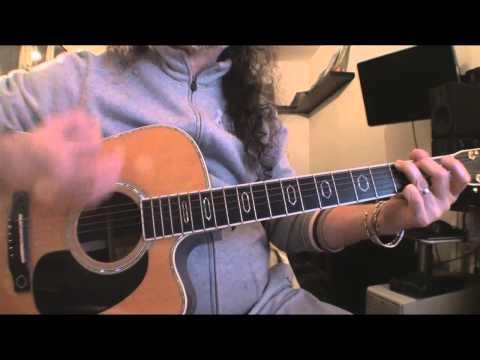 Bob Dylan - Knocking on heavens door - tutorial per chitarra facile