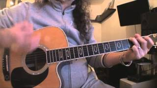 Bob Dylan - Knocking on heavens door - tutorial per chitarra facile