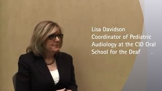 Lisa Davidson - Fitting bimodal devices in children