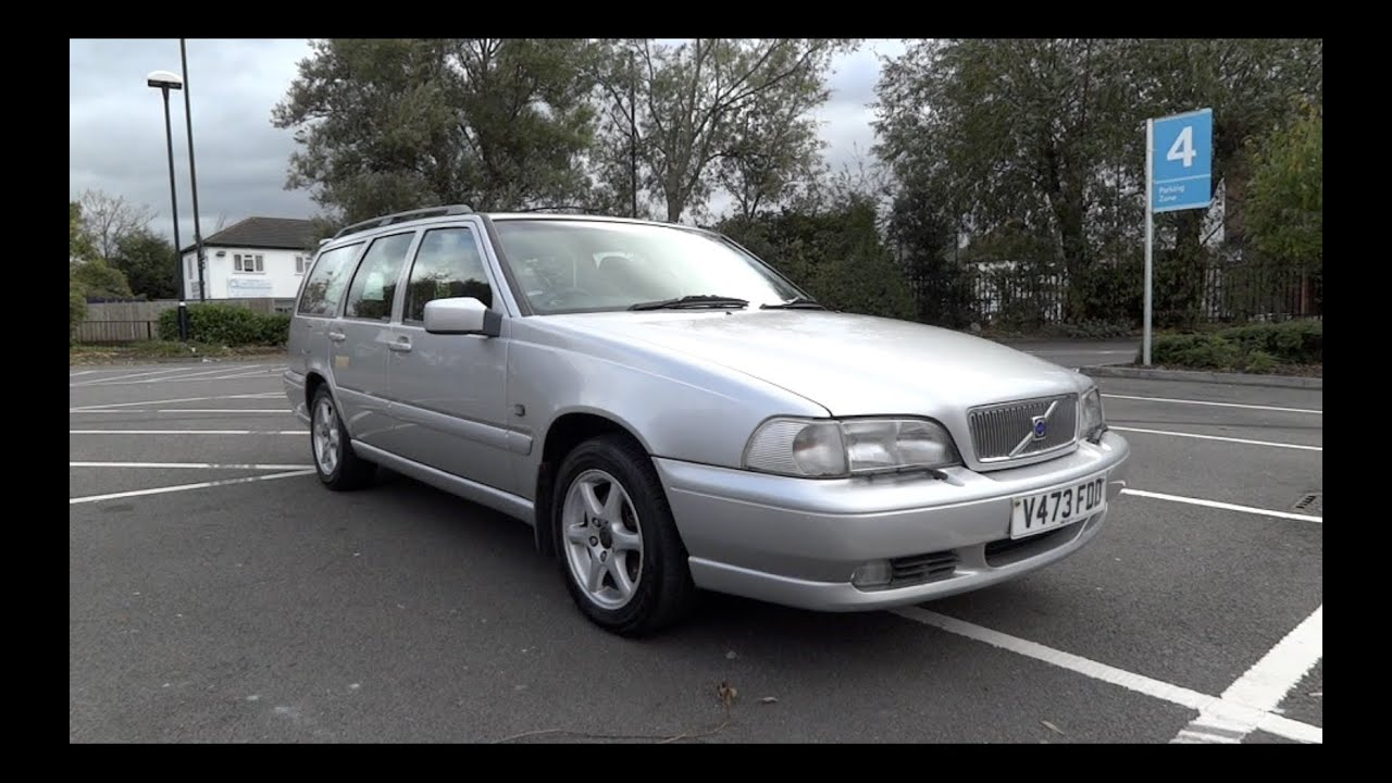 1999 Volvo V70 Se Start-up And Full Vehicle Tour