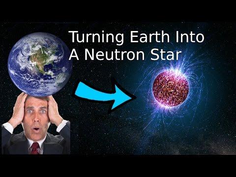 Turning Earth Into A Neutron Star In Universe Sandbox²