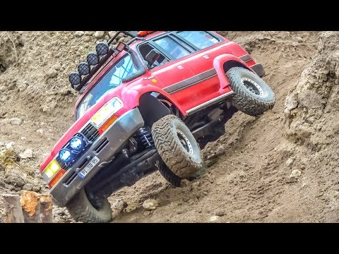 RC OFFROAD ACTION! New Scalepark at RC-Glashaus!