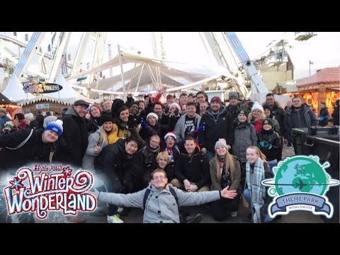 Theme Park Worldwide Winter Wonderland Event Vlog December 2017