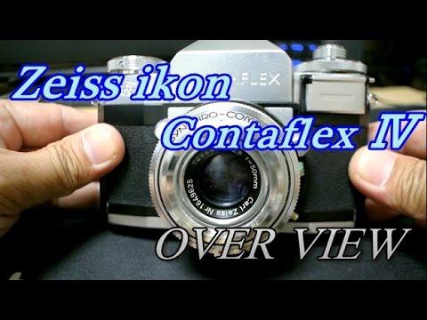 Zeiss ikon Contaflex Ⅳ Tessar 50mm f2 8