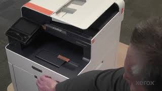 Xerox WorkCentre 6515 Unbox and Power On