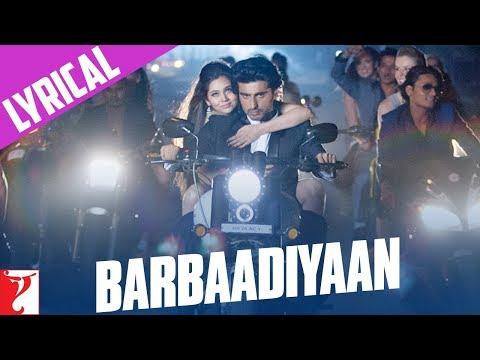 Lyrical: Barbaadiyaan - Full Song with Lyrics - Aurangzeb - YouTube