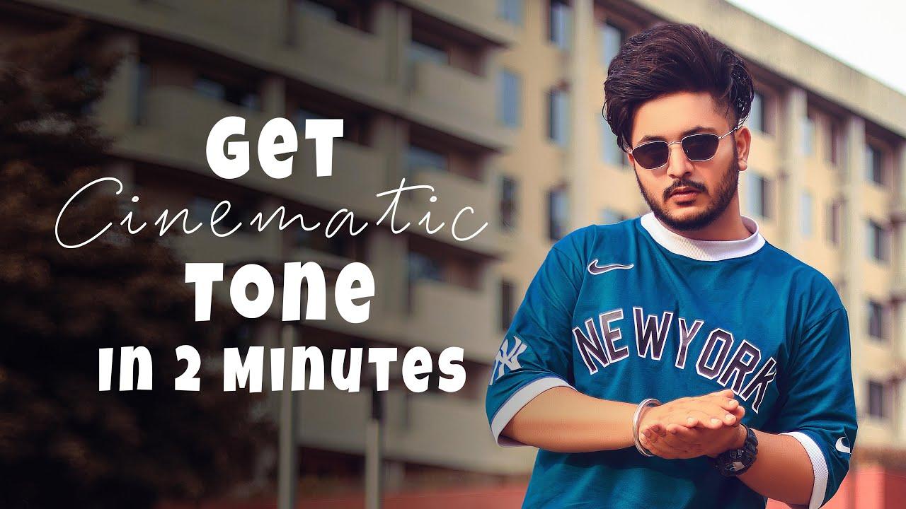 Get Cinematic Tone In 2 minutes || Lightroom mobile tutorial || Sukh Dhiman