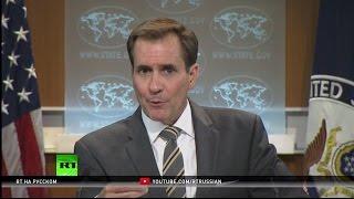 В Госдепе назвали недопустимым поведение сирийской оппозиции, оскорбившей американских солдат