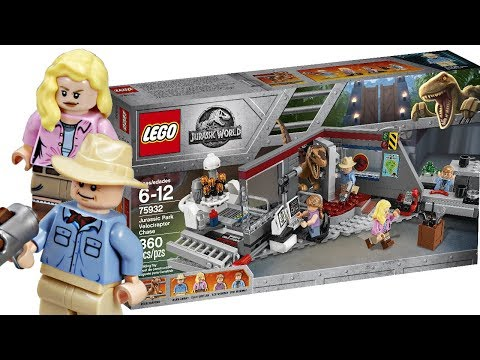 LEGO Jurassic Park set pictures - FINALLY!