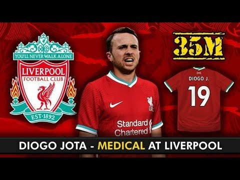 diogo jota set for liverpool medical at melwood what a signing youtube diogo jota set for liverpool medical at melwood what a signing