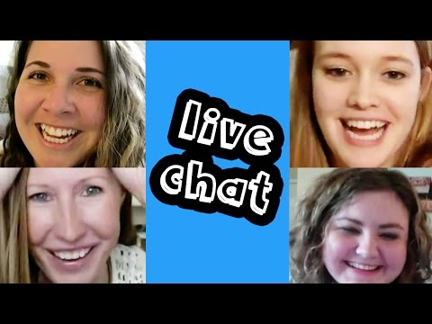 LIVE CHAT with Arianna Pflederer, Anna Anderson & Jenny Wagner