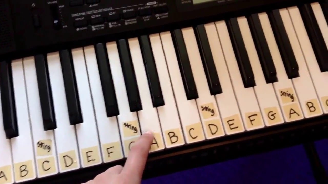 88 Key Piano Keyboard Diagram Gfci Receptacle Wiring How To Label A 61 Youtube