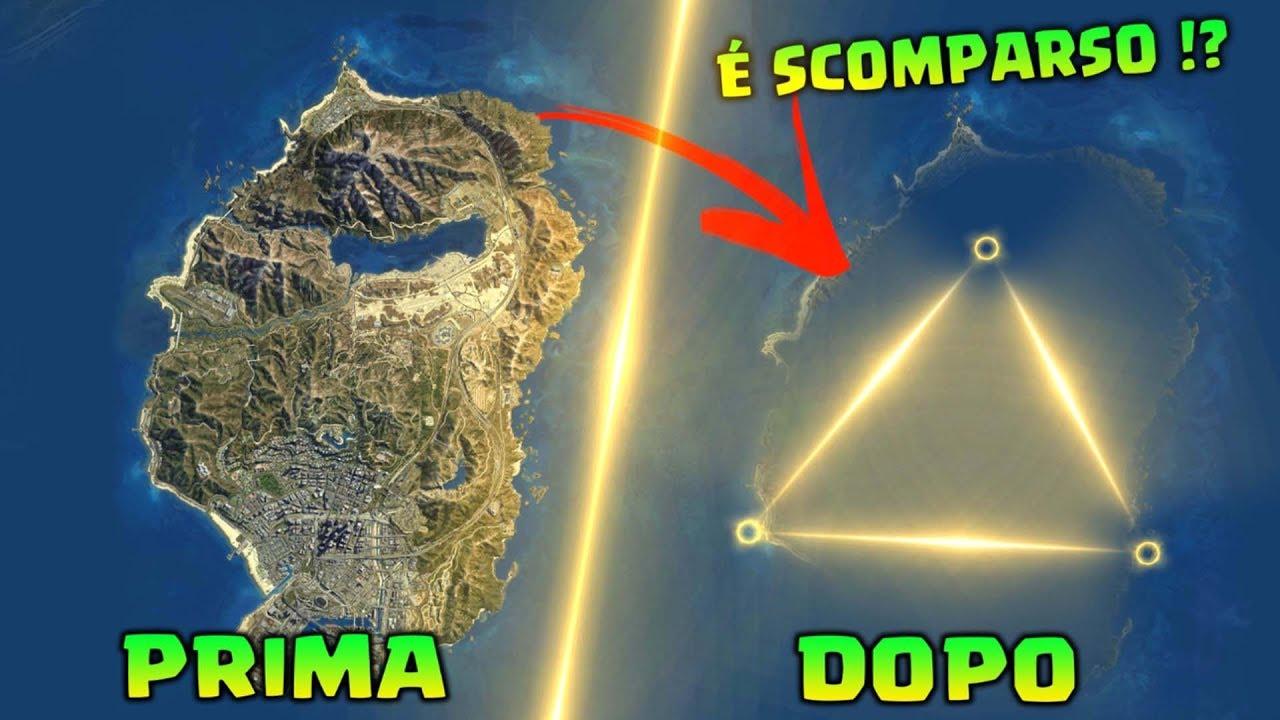 Gta V Elicottero Mappa : Scomparsa la mappa di gta citta fantasma il