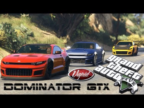 GTA Online New DLC - Dominator GTX Trailer (Dominic Toretto - Brian O'Conner - Dan Bilzerian)